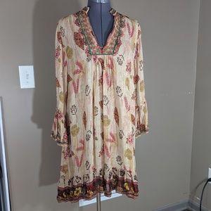 Zara Boho Harvest Dress Size L